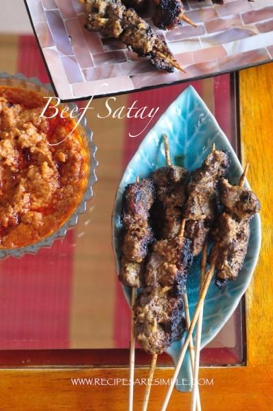 Best Beef Satay Recipe
