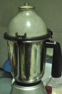 soft idli recipe - grind