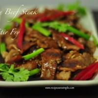 chinese beef steak