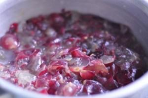 grape squash grape cordial - boil