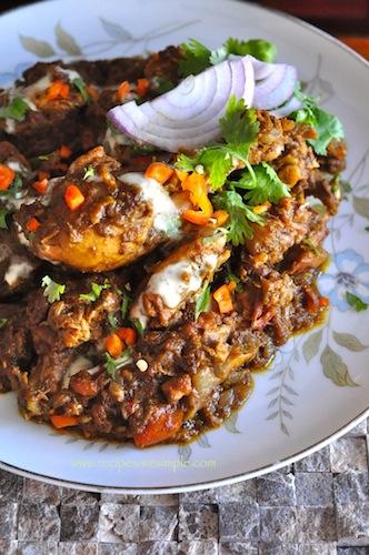 capsicum chicken kadai