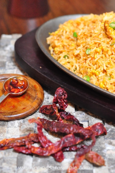sambal fried rice recipe