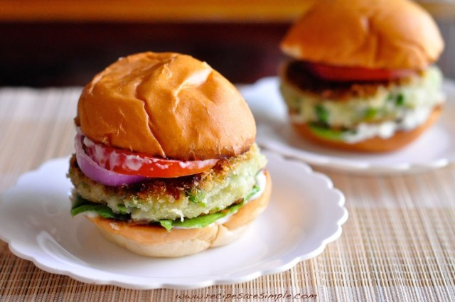 aloo tikki burger how to make
