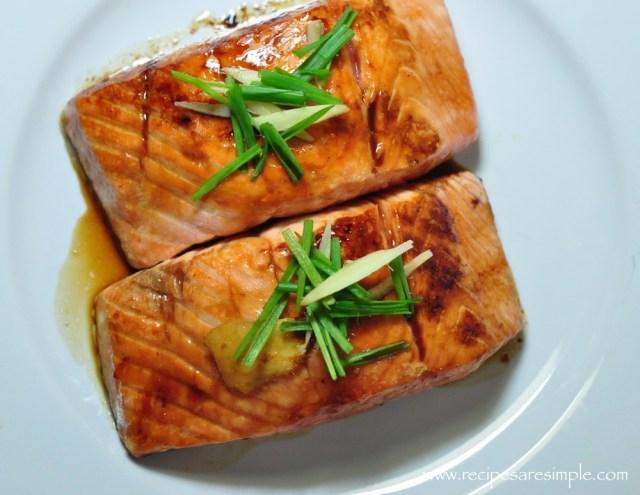 teriyaki salmon non alcoholic