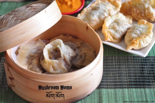 Mushroom Momo Recipe