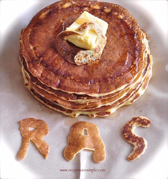 Classic Buttermilk Pancakes - Never Fail Recipe