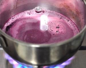 pomegranate molasses boiled