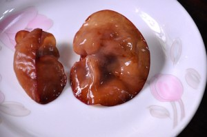 Mu Shu Chicken black fungus fresh