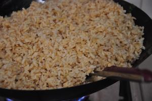 kale fried rice add rice