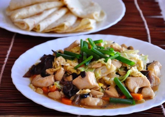 mu shu chicken recipe with pancake