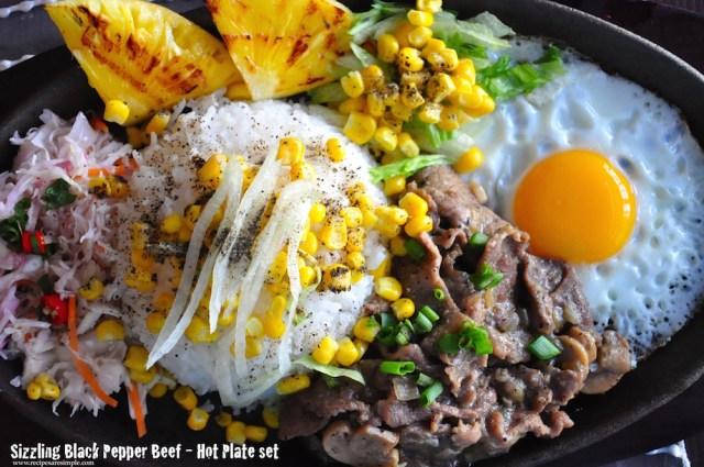 Sizzling Black Pepper Beef - Hot Plate Recipe