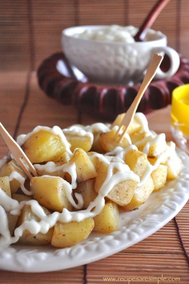 patatas alioli tapas
