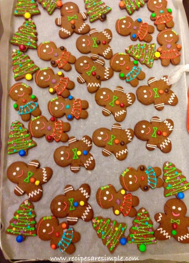 gingerbread man recipe