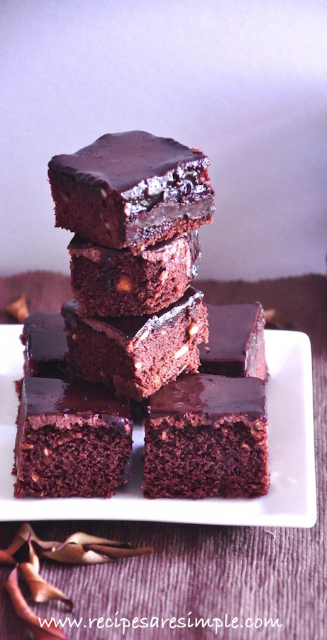 frosted fudgy brownie recipe