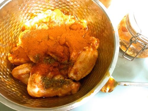oven bq chicken wings marinade