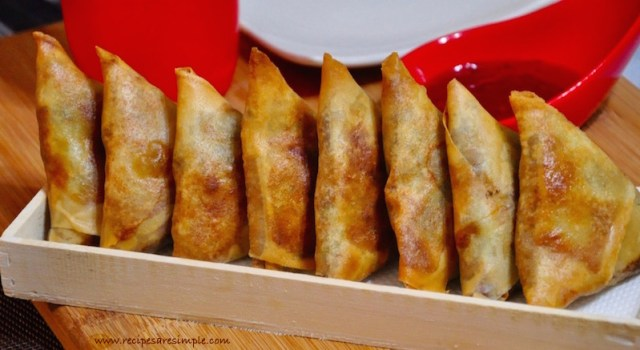 Keema Samosa | Mince Meat Sambousek recipe