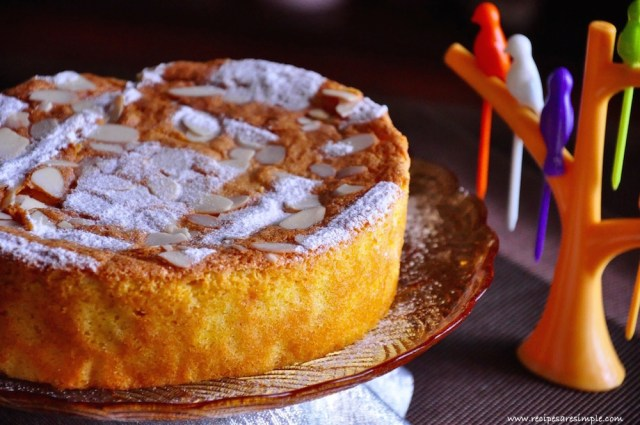 spanish orange cake recipe video