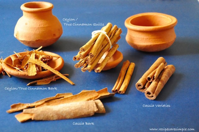 Cinnamon Varieties