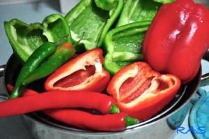Slata Mechouia | Tunisian Grilled Pepper Salad 1