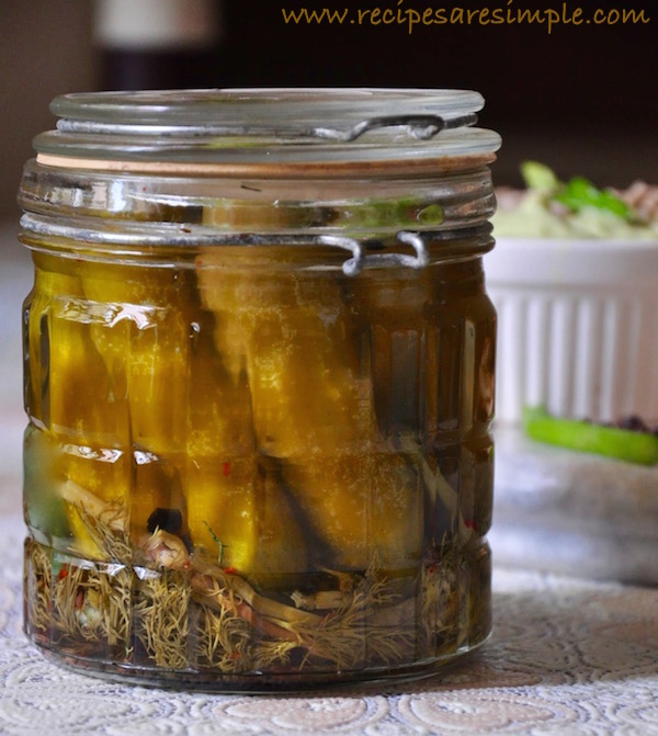 dill pickles easy