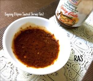 bagoong - SAUTEED SHRIMP PASTE