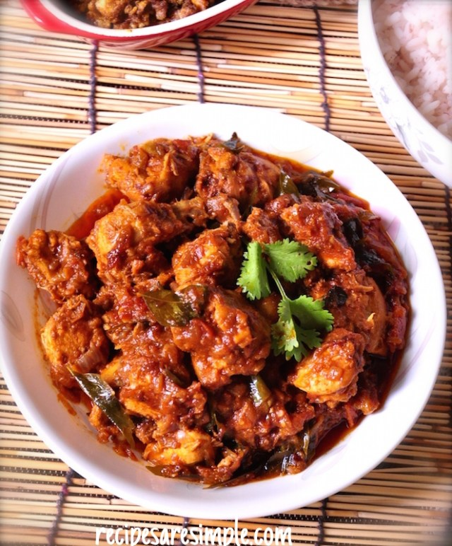 masala chicken roast recipe