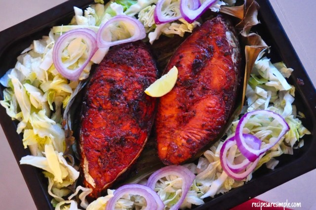 tandoori fish fry recipe