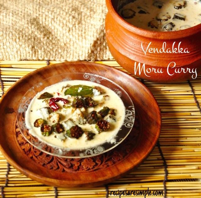 Vendakka Moru Curry