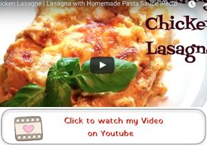 chicken lasagne youtube video