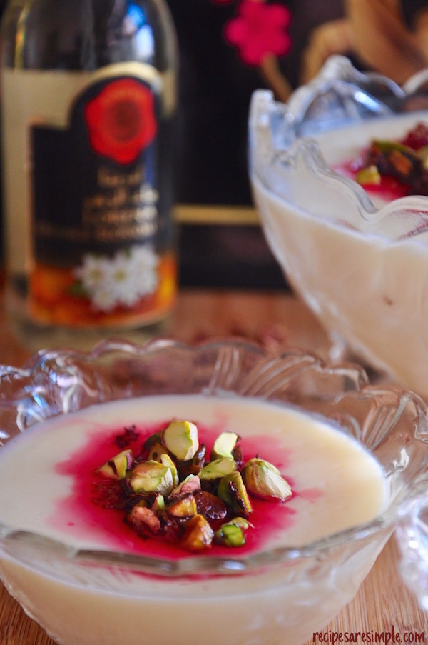 Muhallabia   Light Middle Eastern Milk Pudding recipe video