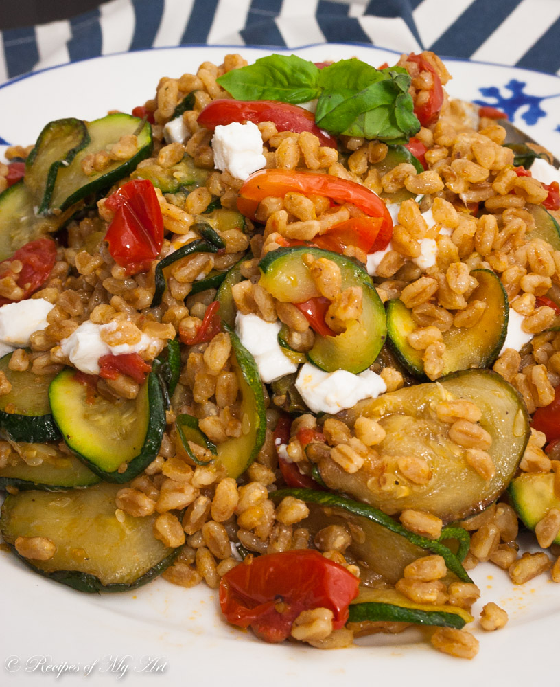 Courgette and Tomato Barley Salad-8
