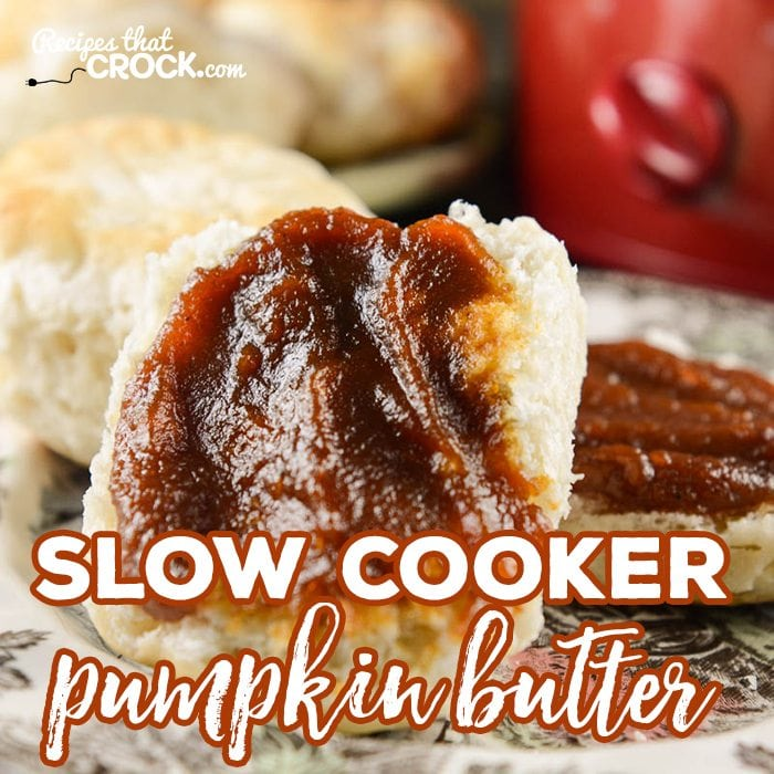 Slow Cooker Pumpkin Butter- This recipe is so dangerously easy!