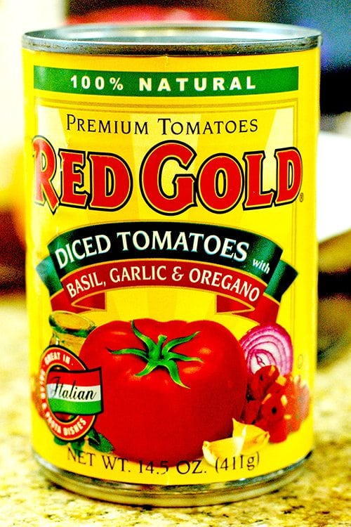 Basil Garlic and Oregano Tomatoes