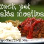 Crock Pot Salsa Meatloaf