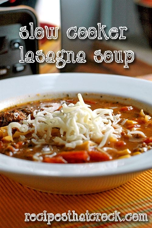 CP Lasagna Soup