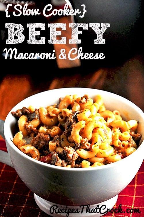 Beefy Mac & Cheese