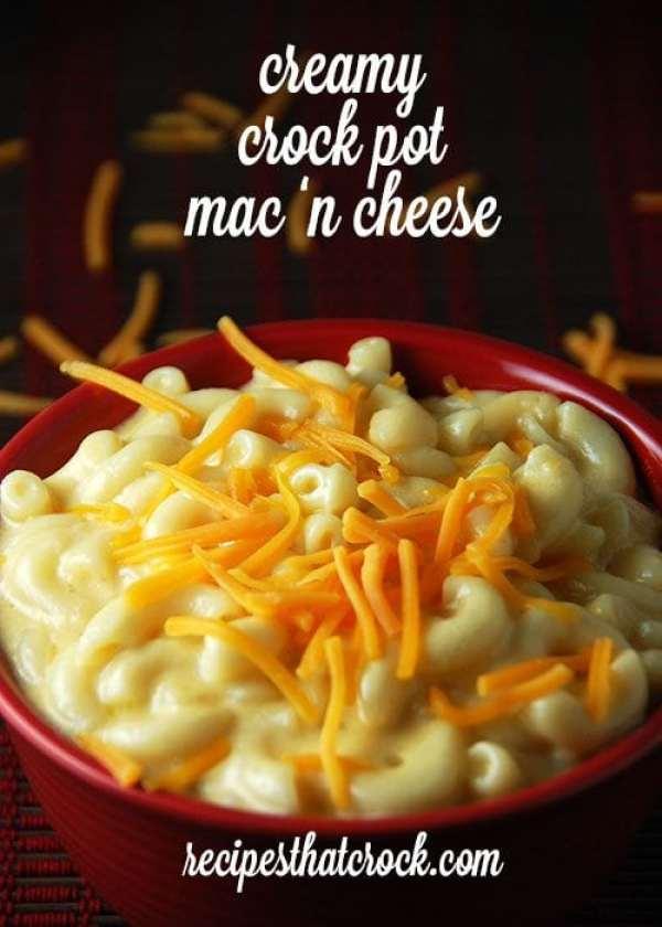 Creamy Crock Pot Mac 'n Cheese