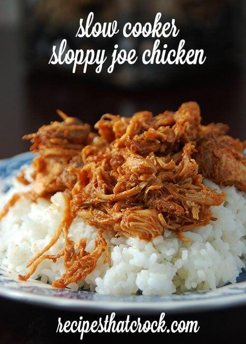 Slow Cooker Sloppy Joe Chicken Recipes That Crock
