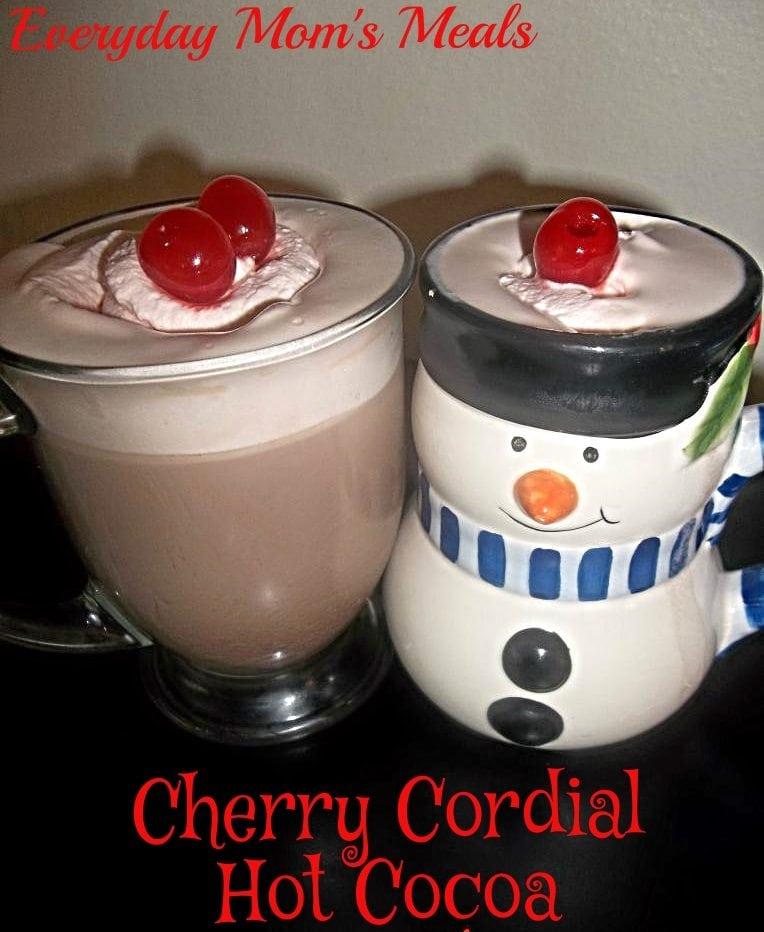 cherry cordial hot cocoa