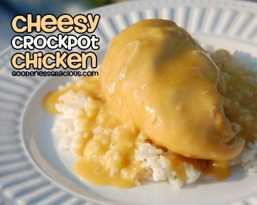 Cheesy Crock Pot Chicken