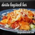 Dorito Haystack Bar {Crock Pot}