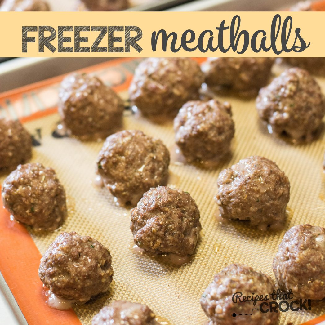 Homemade Frozen Meatballs Recipes That Crock