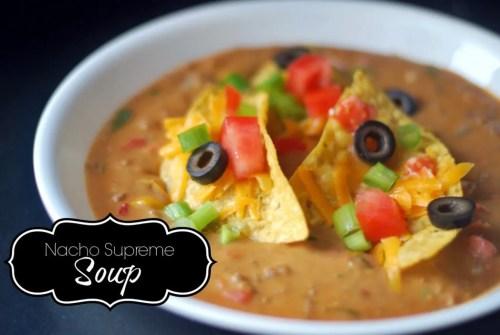 Nacho Supreme Soup For Facebook