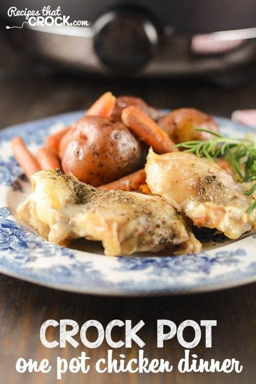 Crockpot Chicken Dinner Recipe