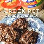 Crock Pot No Bake Cookies