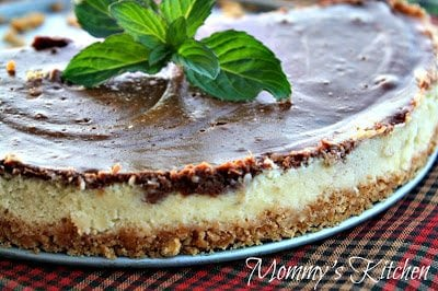 Chocolate Swirl Cheesecake