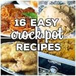 16 Easy Crock Pot Recipes
