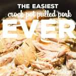 Easiest Crock Pot Pulled Pork EVER