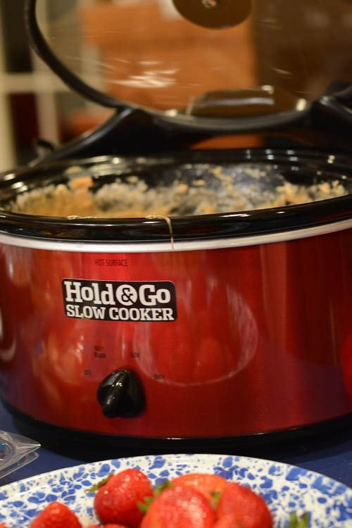 A slow cooker you carry with one hand? We put the Hold and Go Slow Cooker to the test.
