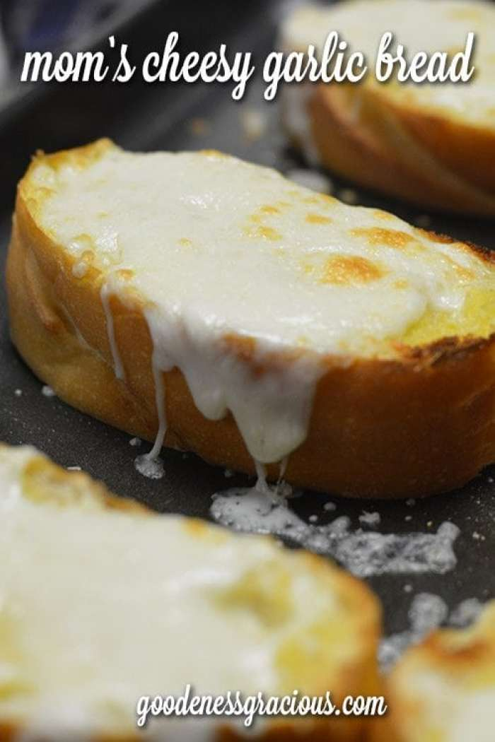 The BEST cheesy garlic bread for any meal!